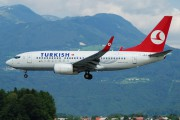 TC-JKJ - Turkish Airlines Boeing 737-700 aircraft