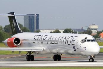 OY-KHE - SAS - Scandinavian Airlines McDonnell Douglas MD-82