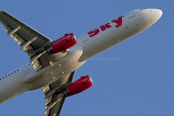TC-SKI - Sky Airlines (Turkey) Airbus A321