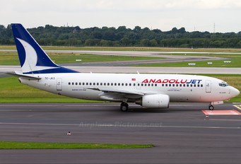 TC-JKS - AnadoluJet Boeing 737-700