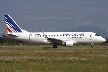 F-HBXA - Air France - Regional Embraer ERJ-170 (170-100)