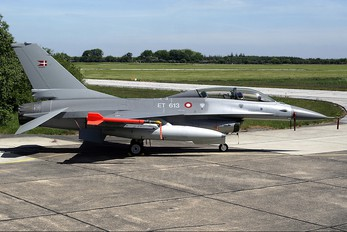 ET-613 - Denmark - Air Force General Dynamics F-16B Fighting Falcon