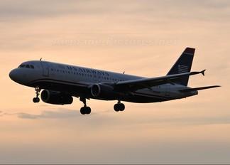 N660AW - US Airways Airbus A320