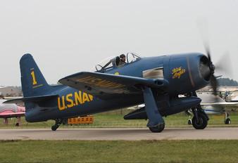 N68RW - Private Grumman F8F Bearcat