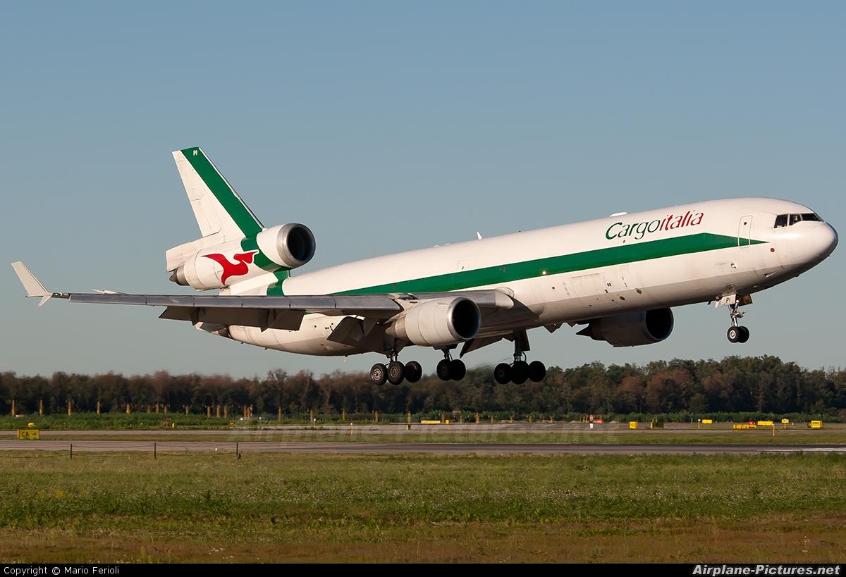 Cargo Italia EI-UPI aircraft at Milan - Malpensa