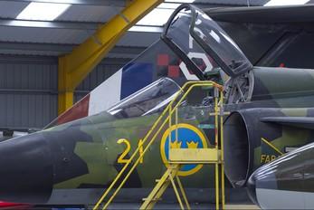 37918 - Sweden - Air Force SAAB AJSH 37 Viggen