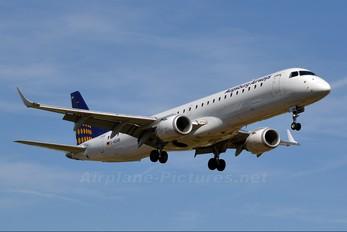 D-AEMB - Augsburg Airways - Lufthansa Regional Embraer ERJ-195 (190-200)