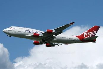 G-VHOT - Virgin Atlantic Boeing 747-400