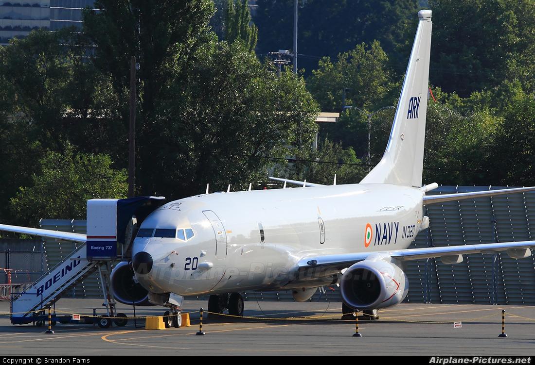 India - Navy IN320 aircraft at Renton Municipal