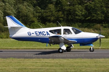 G-EMCA - Private Rockwell Commander 114