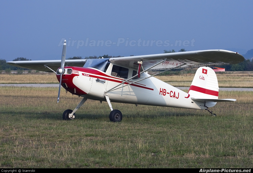 Private HB-CAJ aircraft at Verona - Boscomantico