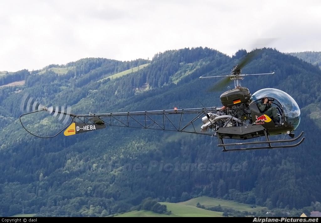 The Flying Bulls D-HEBA aircraft at Zeltweg