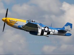 N651JM - Private North American P-51D Mustang