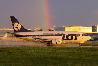 SP-LKF - LOT - Polish Airlines Boeing 737-500