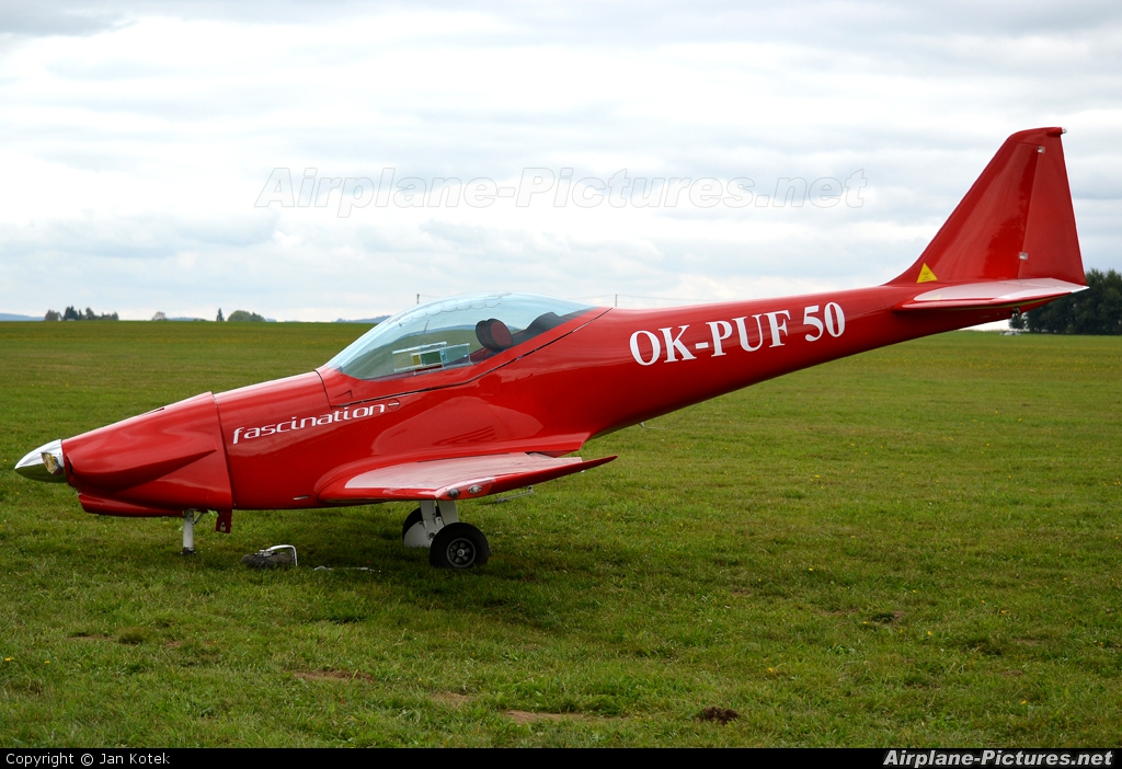 Private OK-PUF 50 aircraft at Jihlava
