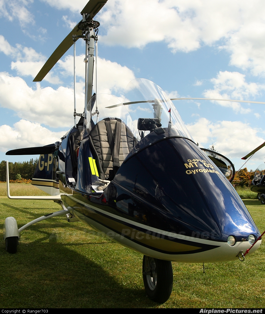 Private G-PPLG aircraft at Culbokie