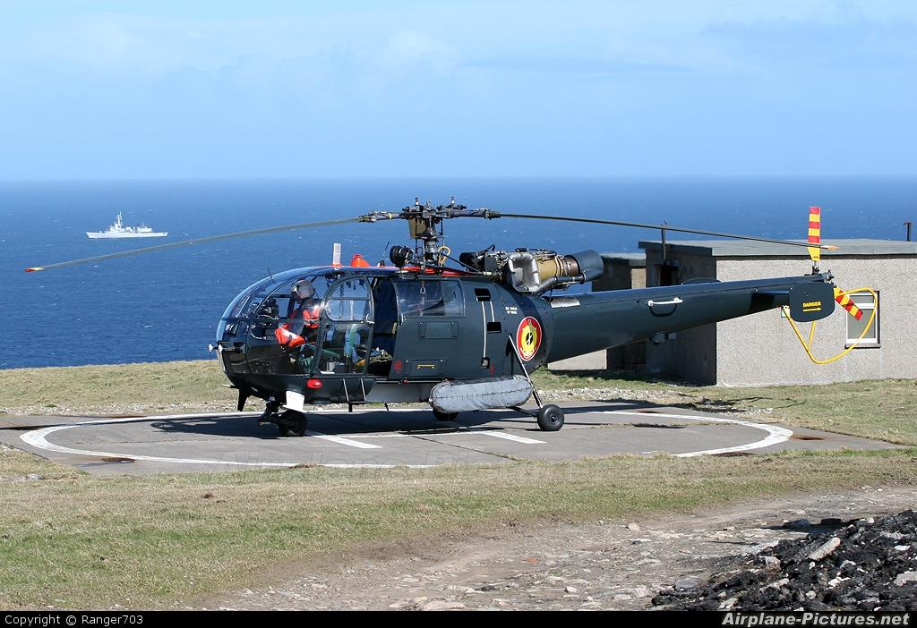 Belgium - Navy M-1 aircraft at Faraid Head HLS