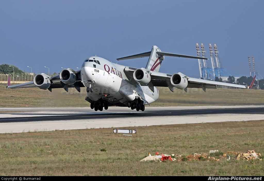 Qatar Amiri Flight A7-MAB aircraft at Malta Intl