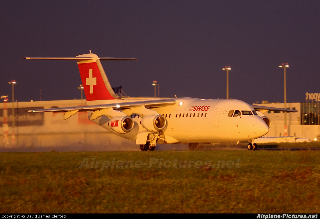 Swiss HB-IXN aircraft at Prague - Václav Havel
