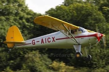 G-AICX - Private Luscombe 8a Silvaire