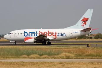 G-BVKB - bmibaby Boeing 737-500