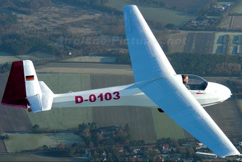 D-0103 - Sportfluggruppe Nordholz/Cuxhaven Schleicher K-8B