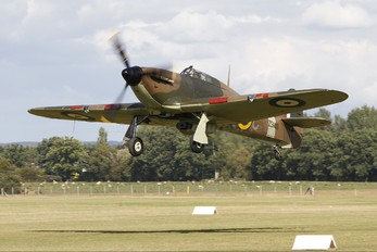 G-HURI - Historic Aircraft Collection Hawker Hurricane I