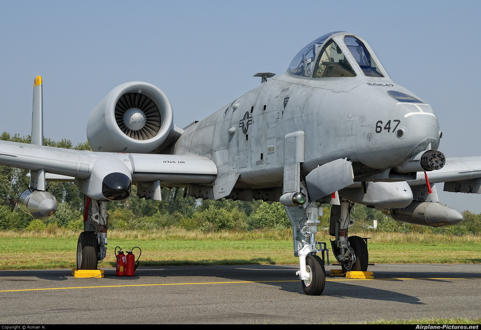 USA - Air Force 82-0647 aircraft at Radom - Sadków