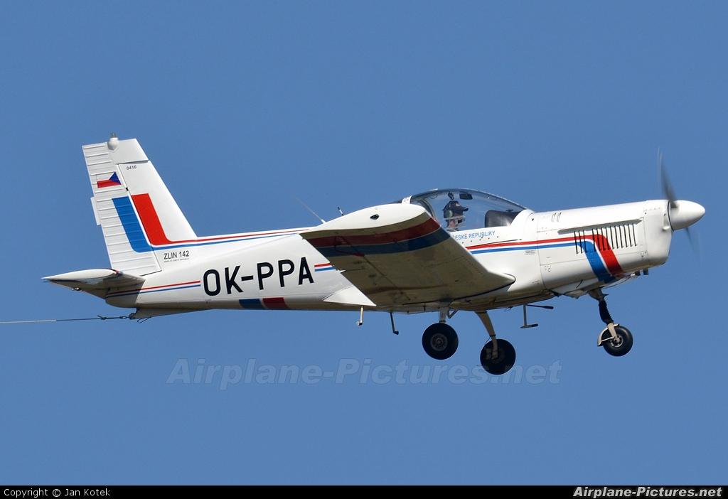 Aeroklub Czech Republic OK-PPA aircraft at Hradec Králové