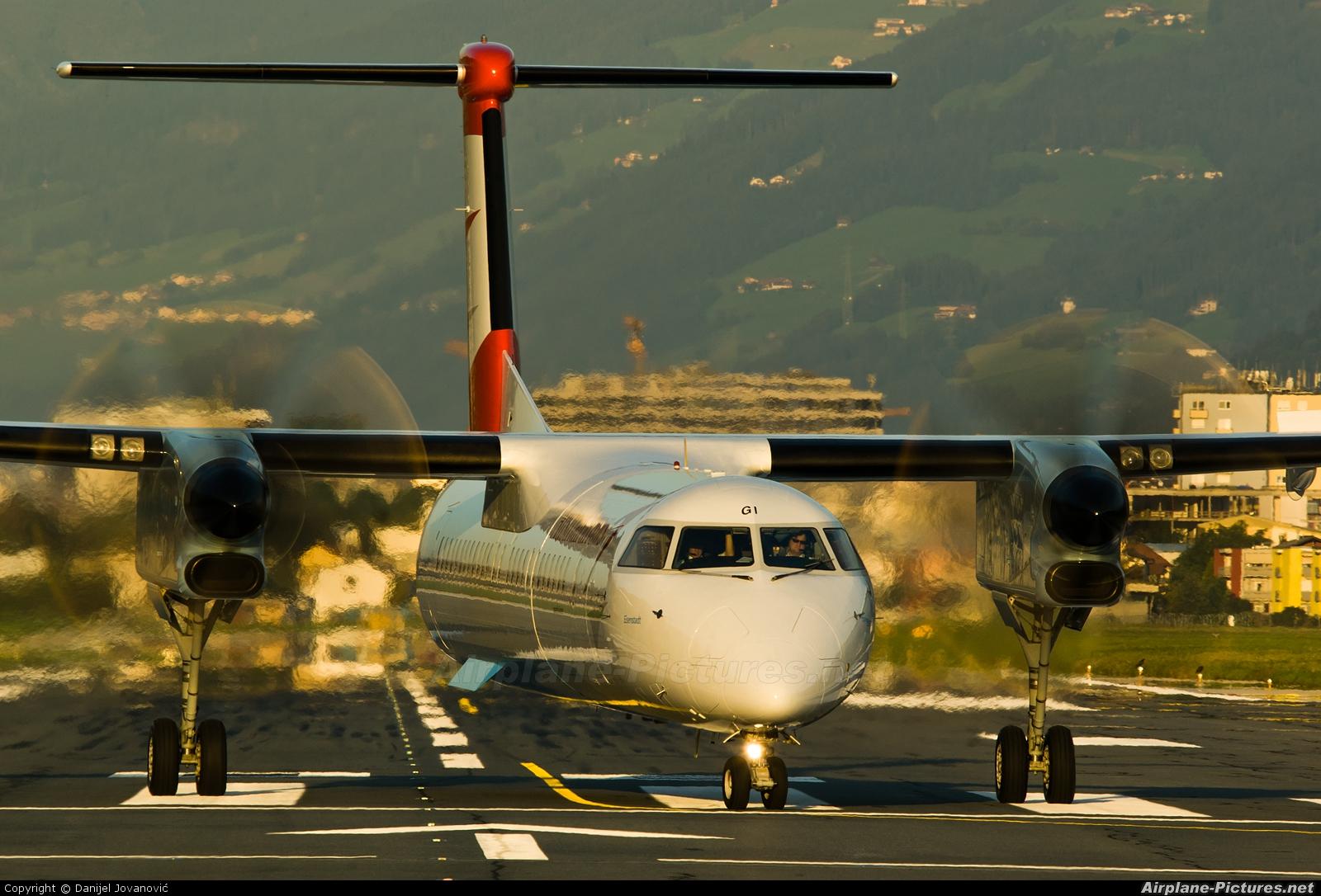Austrian Airlines/Arrows/Tyrolean OE-LGI aircraft at Innsbruck