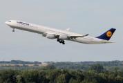 D-AIHY - Lufthansa Airbus A340-600 aircraft