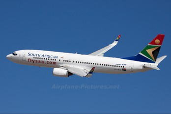 ZS-SJC - South African Airways Boeing 737-800