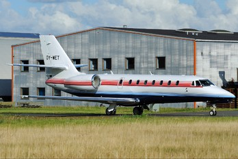 OY-WET - Private Cessna 680 Sovereign