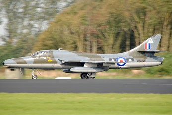 G-BXFI - Hunter Flying Hawker Hunter T.7