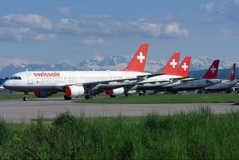 HB-IJF - Swissair Airbus A320