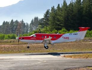 ZS-AMS - Red Cross Air Mercy Service Pilatus PC-12
