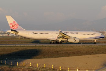 B-18391 - China Airlines Airbus A330-300