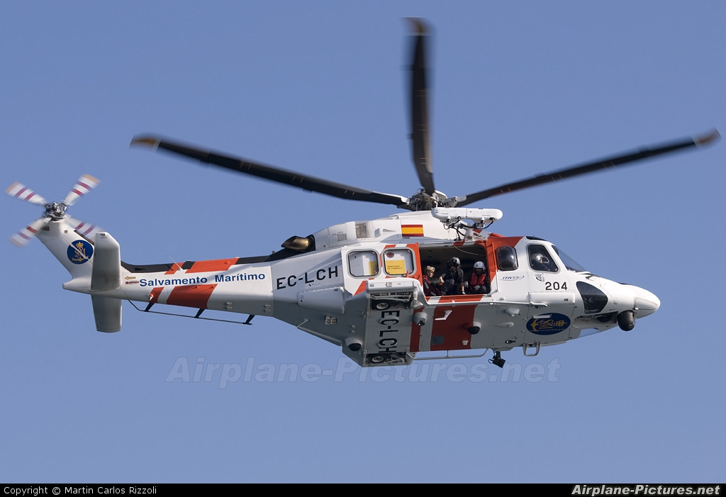 Spain - Coast Guard EC-LCH aircraft at Off Airport - Spain