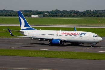 TC-JGJ - AnadoluJet Boeing 737-800