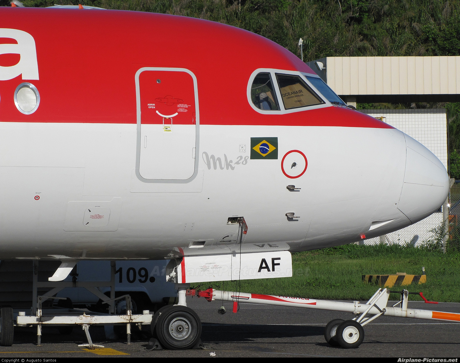 Avianca Brasil PR-OAF aircraft at Salvador - Int / Deputado Luis Eduardo Magalhaes