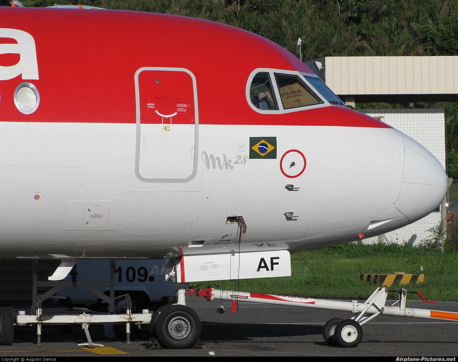 Avianca Brasil PR-OAF aircraft at Salvador - Deputado Luis Eduardo Magalhaes