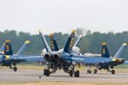163765 - USA - Navy : Blue Angels McDonnell Douglas F/A-18A Hornet aircraft
