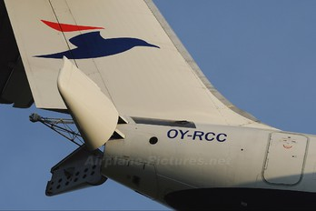 OY-RCC - Atlantic Airways British Aerospace BAe 146-300/Avro RJ100