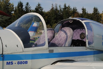SP-MAK - Private Morane Saulnier MS.880B Rallye Club