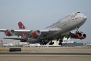 G-VHOT - Virgin Atlantic Boeing 747-400 aircraft