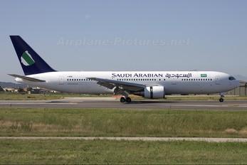 I-AIGG - Saudi Arabian Airlines Boeing 767-300