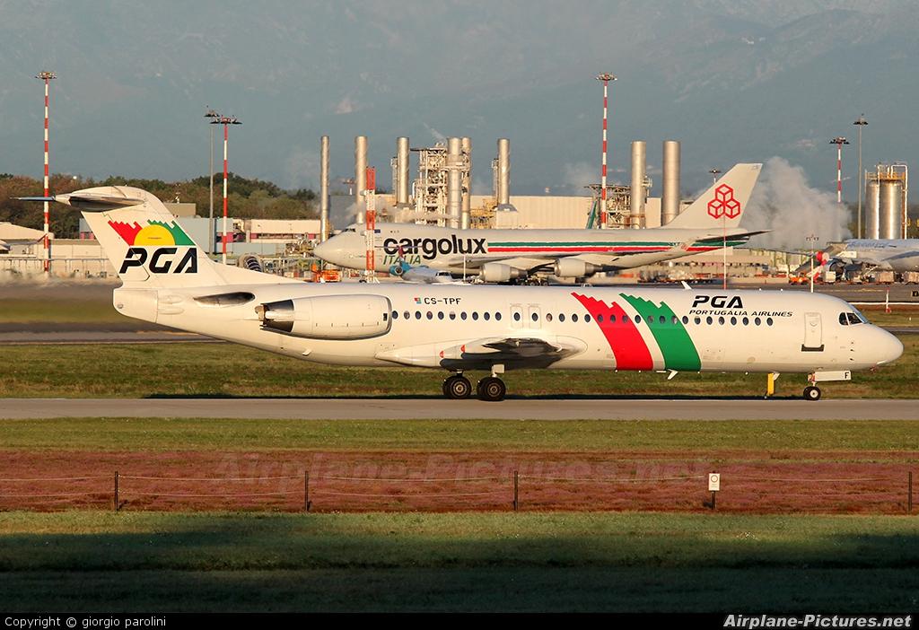PGA Portugalia CS-TPF aircraft at Milan - Malpensa