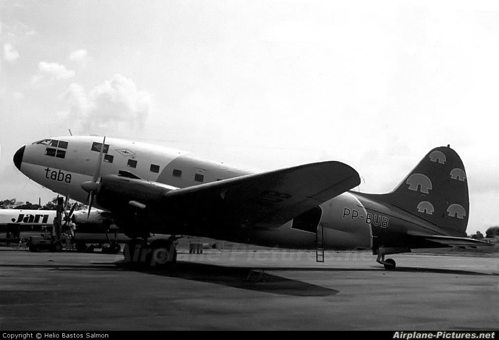 TABA - Transportes Aéreos da Bacia Amazônica PP-BUB aircraft at Belém