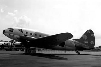 PP-BUB - TABA - Transportes Aéreos da Bacia Amazônica Curtiss C-46F Commando