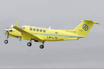 LN-LTF - Lufttransport Beechcraft 200 King Air